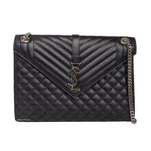 Saint Laurent Triquilt Envelope Shoulder Bag
